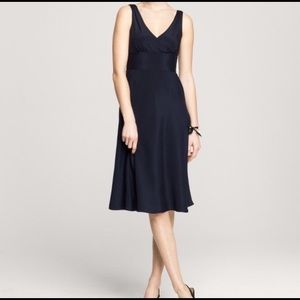 JCrew Silk Fit & Flare Dress